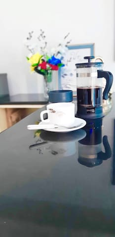 Love coffee? why not try our french press with Fresh ground coffee from my Kalinga.  Lets support our local products.
