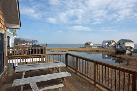 Warm Home Overlooking the Chesapeake Bay - 獨棟