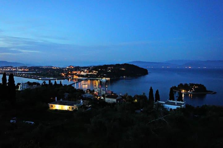 Batis Apartments in Perama Corfu.