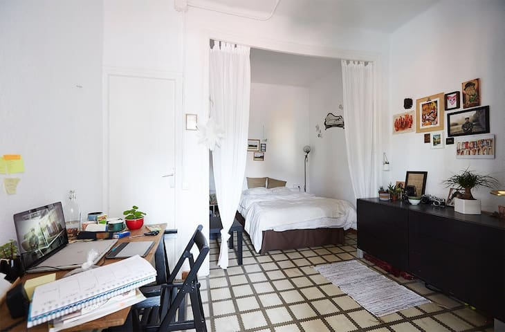 Wide room near the beach - Barcelona - Lejlighed