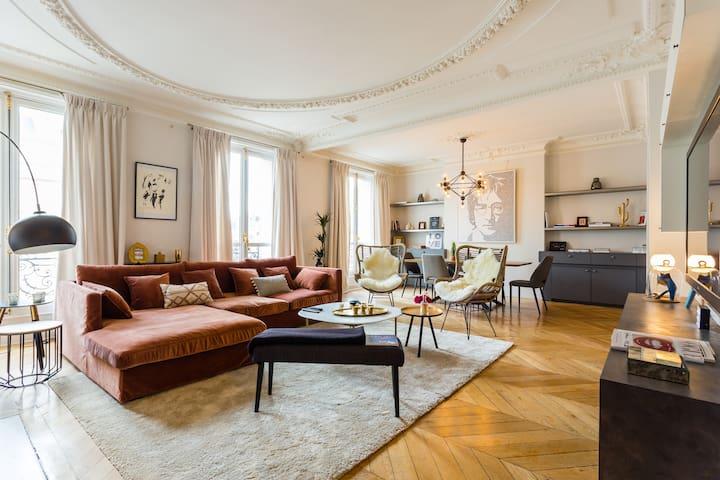 Amazing apartment- Arc de Triomphe/Trocadéro