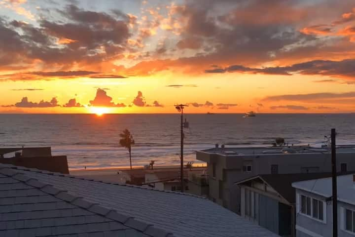 Manhattan Beach Renovated King 1 Bed near Beach
