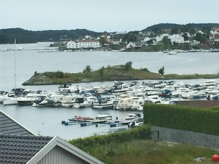 Leilighet ved sjøen og badeplass