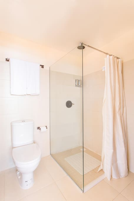 Bathroom Shower Junior Suit Double Deluxe
