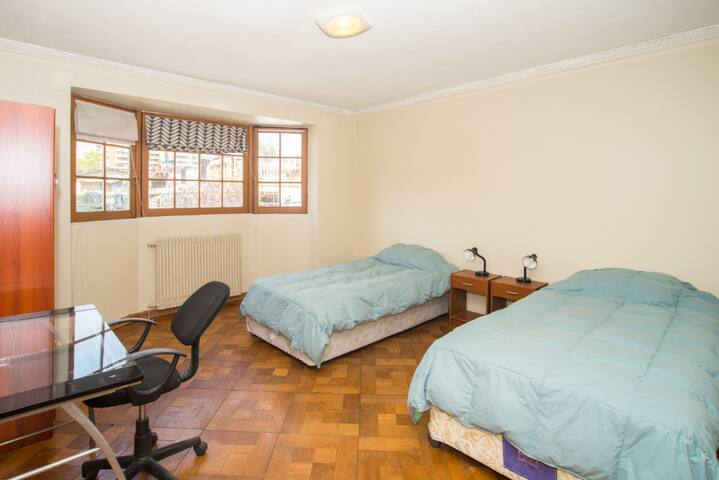 Twin Room in Santiago Providencia