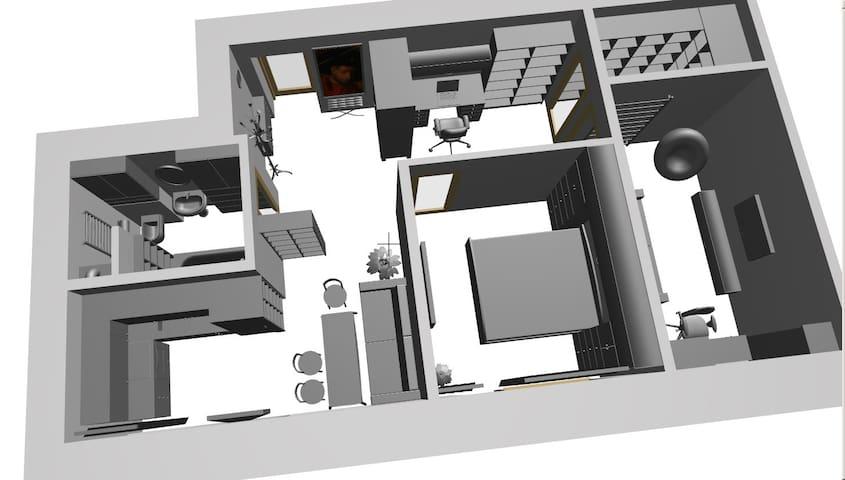План квартиры / appartment plan