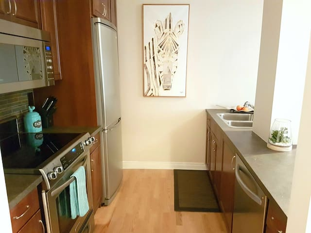 Beautiful, clean apartment in Gastown! - Vancouver - Loft