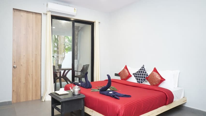 Aroma Stay at Alibag- Couple Room - 2
