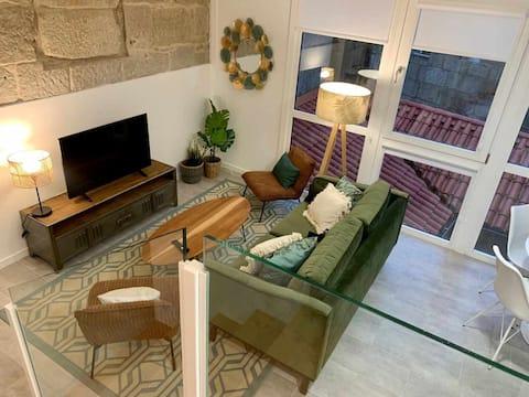 Duplex Camino de Santiago II, apartamento en Rúa Real, Ponvedra