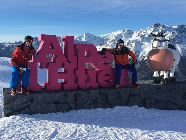 Appartement à l'Alpe d'Huez, quartier: Les Bergers