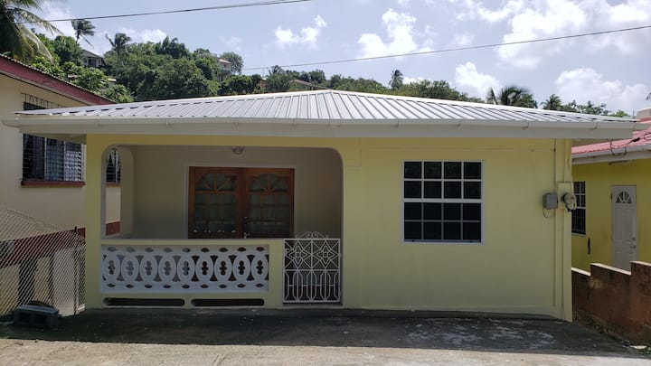 2 Bdr House in Laborie Village with full amenities