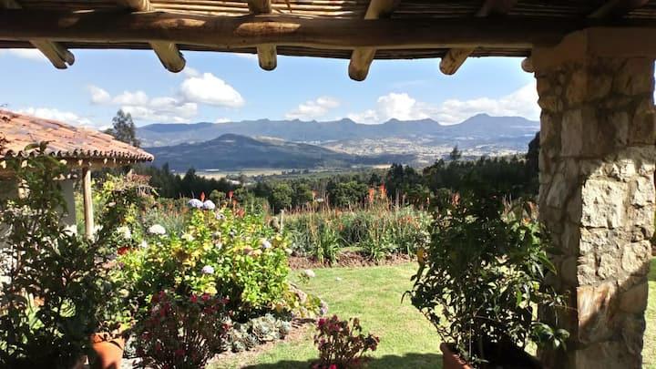 ¡ Las Rosanas,  espléndida casa de alta montaña !