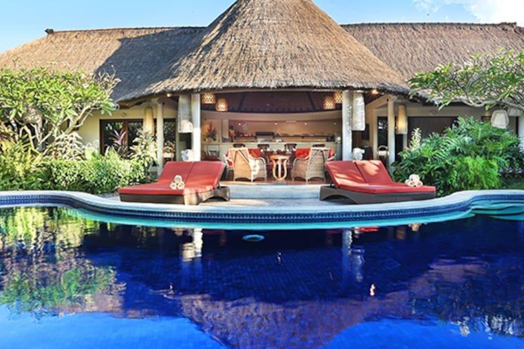 Bali Akasa Villa, a classic Bali Villa