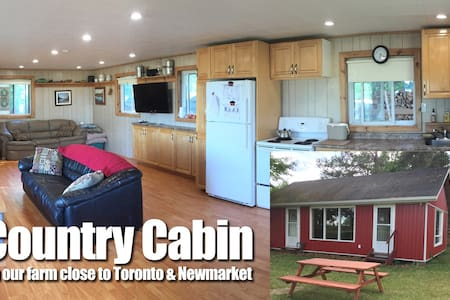 Country Cabin on Farm Close to Toronto Newmarket - Egyéb