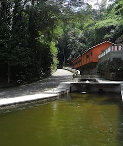 Santuário ecológico no coração da mata atlântica - Cachoeiras de Macacu - Cabana