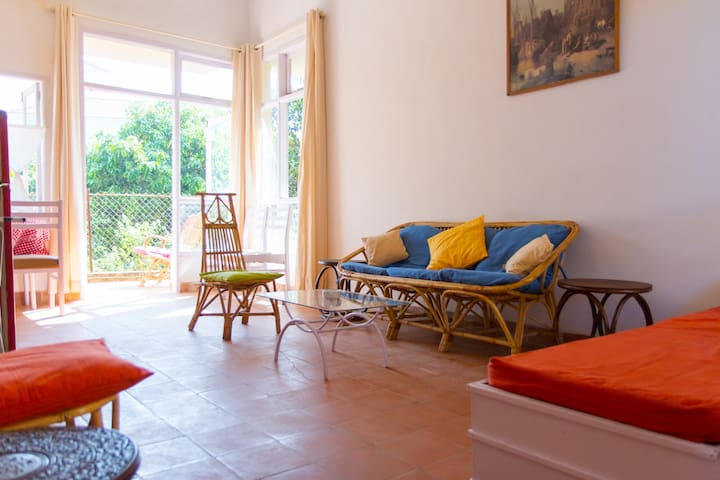 A Comfortable Duplex Row House in Nerul, North Goa