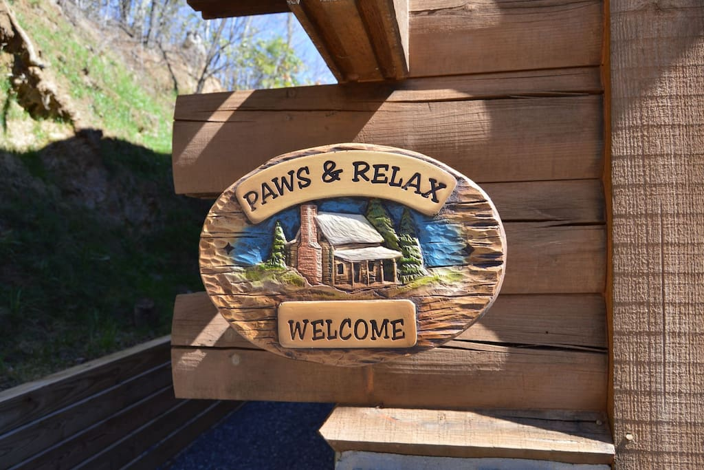 Welcome to Paws & Relax- We hope you enjoy your stay