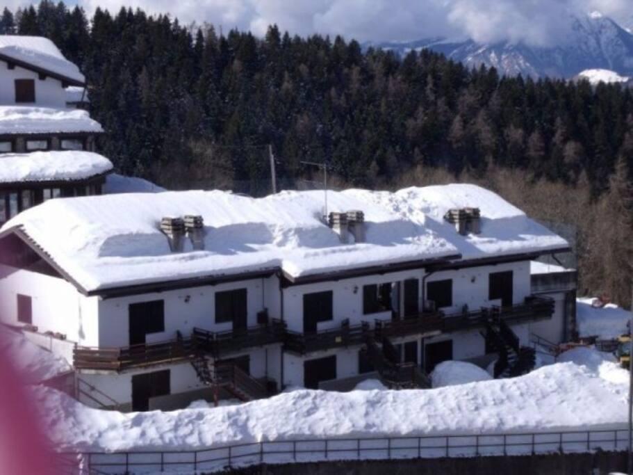 Bilocale girasole paradiso della neve case in affitto for 3 piani della casa della camera da letto di storia 5