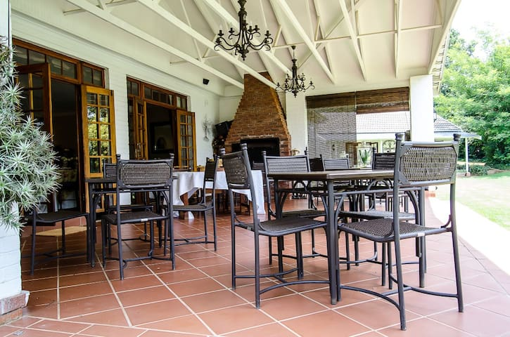 Verandah with Braai Area