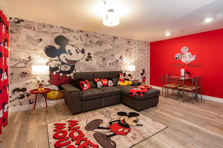 Mickey Mouse Themed Getaway next to Disney 2