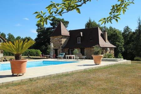 Les Fauchedies : a romantic hideway in Dordogne - Rouffignac-Saint-Cernin-de-Reilhac - Talo