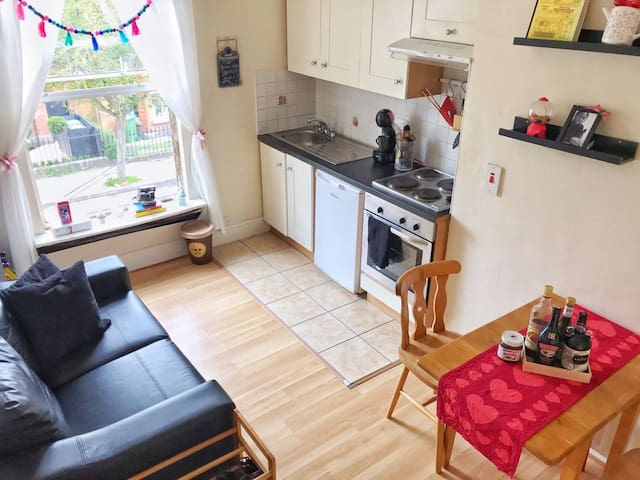 Cosy  flat close (15min) to City Center