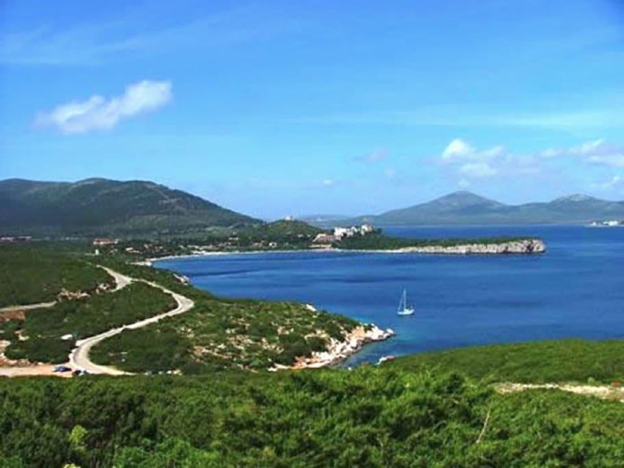 Alghero, Casa Gaia per 5 persone vicino spiaggia