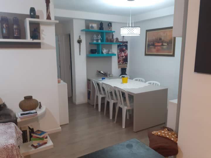Apartamento aconchegante e bem equipado