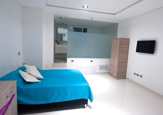 Studio @ BAQ / Apartaestudio en BAQ - Barranquilla - Flat