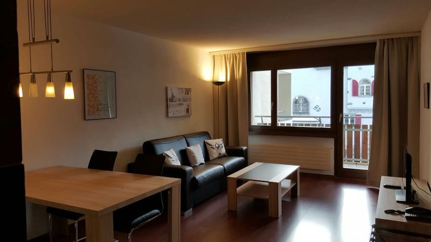 2 Zimmer Ferienwohnung 'il mund' - Disentis/Mustér - Apartament