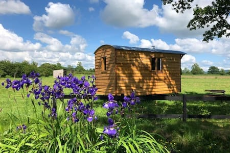 shepherd huts by shredlands