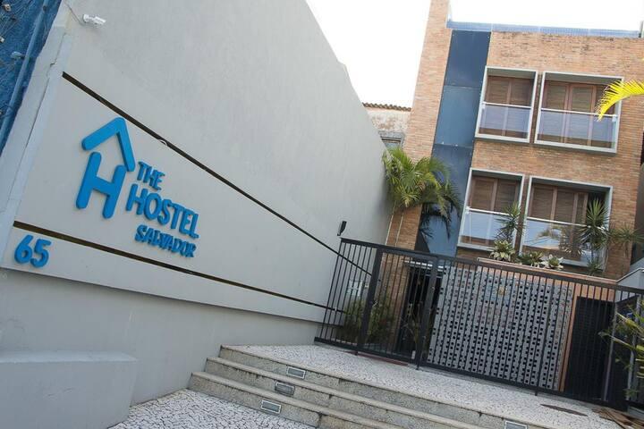 Cama em Dormitório Misto - The Hostel Salvador