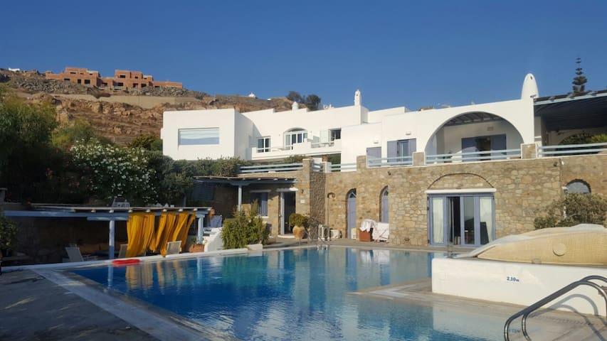 Mykonos Family Home Villa - Mikonos - Rumah
