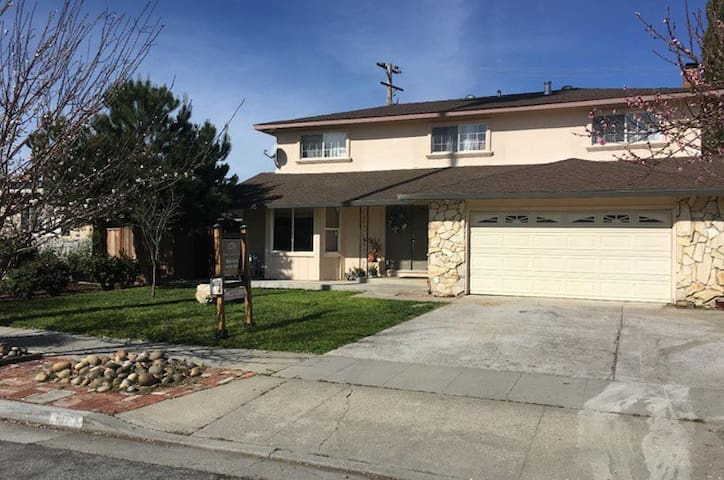Silicon Valley/Bay Area/San Jose Home- 4bd - ซานโฮเซ - อพาร์ทเมนท์