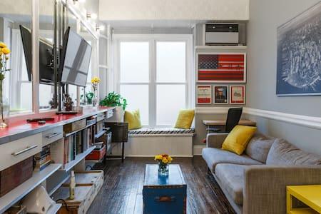 Modern & Charming Townhouse, Steps to NYC - Jersey City - Sorház