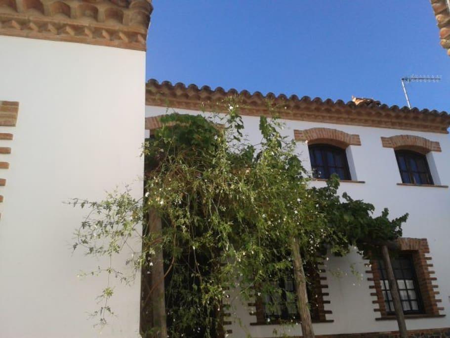 Casa pepa casa rural en la sierra de aracena casas en for Casas de alquiler en la sierra de madrid