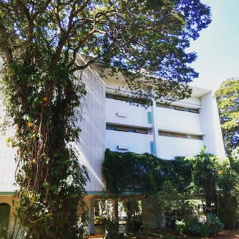 Apartamento amplo e fresco no coração de Brasília