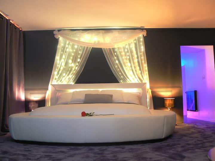 Le Cocon Enchanteur gîte romantique coquin jacuzzi