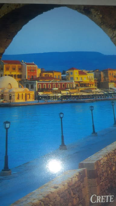 Old harbor of Chania...