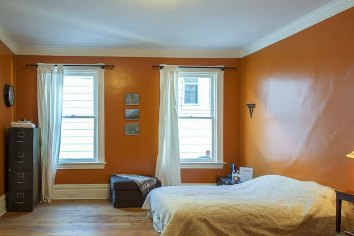 Private Bedroom in Victorian Home (Regent Square) - Pittsburgh - Dom
