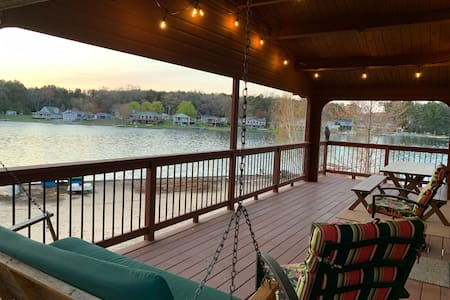 The Ultimate Lake House. Waterfront, private dock