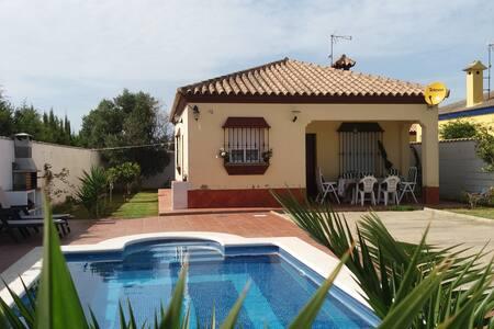 Villa Los Naranjos, piscine et clim - Chiclana de la Frontera