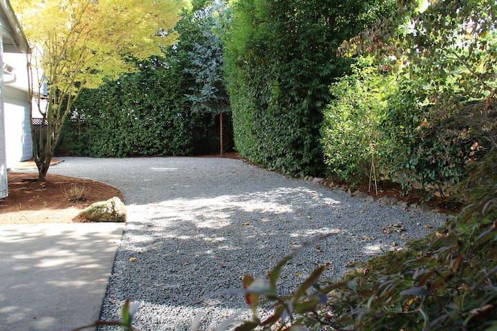 Backyard Japanese garden