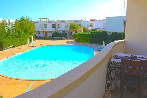 low-cost flat at  Naama Bay Resort Sharm El-Sheikh