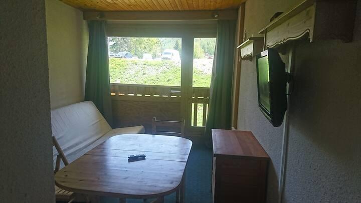 val d Isère studio cabine de 23m2