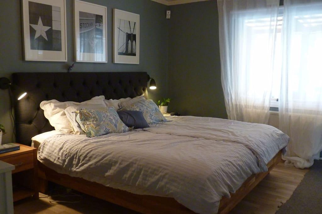 Master bedroom with plenty of closet space