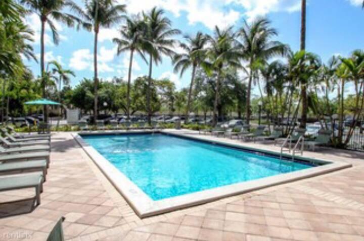 Hermoso apartamento amplio cómodo y  amenities