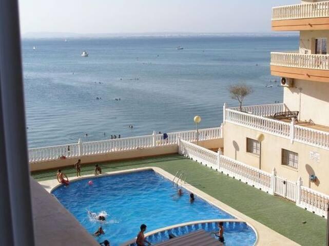 Apto.Mares2, muy fresco y vistas a los Dos Mares - La Manga - Condominio