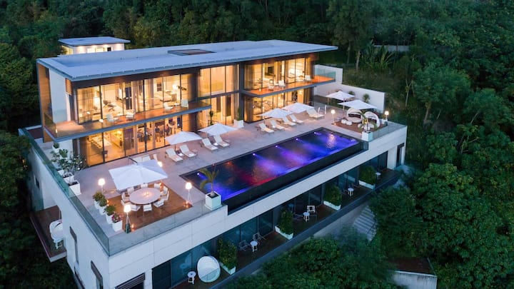 Cliff Top Residence - Luxury 6 Bedrooms Villa
