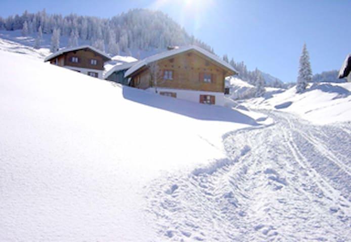 Alpenchalet Garfrescha - Sankt Gallenkirch - Casa